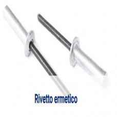 Rivetto ermetico in alluminio